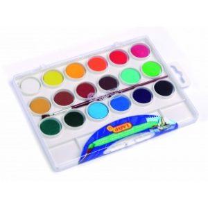 JOVI Vodové farby - sada 18ks so štetcom - 162 g - vodové farby - anilinove farby - vodovky - vodove farby anilinove - vodove farby pre deti - anilinove vodove farby