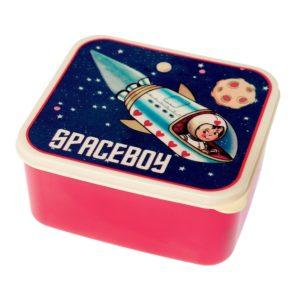 Obedový box Rex London Space Adventures - zdravy desiatovy box - nezavadny desiatovy box do školy - desiatový box - plastové krabičky na potraviny - desiatový box pre deti - bento box - desiatove boxy na jedlo - krabičky na jedlo - obaly na jedlo - čo na desiatu do školy - desiata pre školáka - čo deťom na desiatu do školy