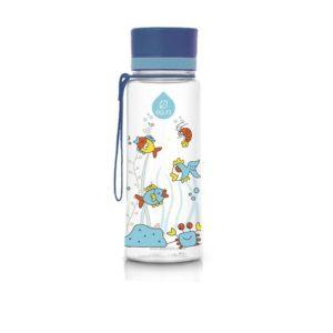 Modrá plastová fľaša Equa Equarium