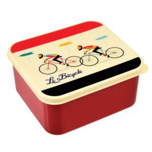 Obedový box Rex London LeBicycle - zdravy desiatovy box - nezavadny desiatovy box do školy - desiatový box - plastové krabičky na potraviny - desiatový box pre deti - bento box - desiatove boxy na jedlo - krabičky na jedlo - obaly na jedlo - čo na desiatu do školy - desiata pre školáka - čo deťom na desiatu do školy