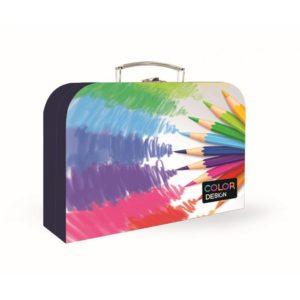 Kufrík na výtvarné potreby - Kufrík do školy - KARTON PP - Kufrík 34 cm Junior Premium - Pastelky