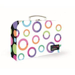 Kufrík na výtvarné potreby - Kufrík do školy - KARTON PP - Kufrík 34 cm Junior Premium - Rings
