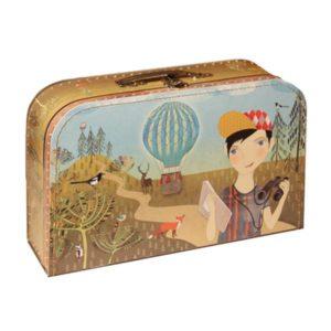 Kufrík na výtvarné potreby - Kufrík do školy - KAZETO - Kufrík 35cm Prírodovedec
