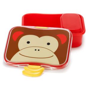 SKIP HOP - Zoo Krabička na desiatu - 4 - dielna - Opička - desiatová krabička pre deti - desiatové boxy - zdravá desiata - čo deťom na desiatu