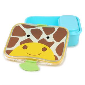 SKIP HOP - Zoo Krabička na desiatu - 4 - dielna - Žirafa - desiatová krabička pre deti - desiatové boxy - zdravá desiata - čo deťom na desiatu