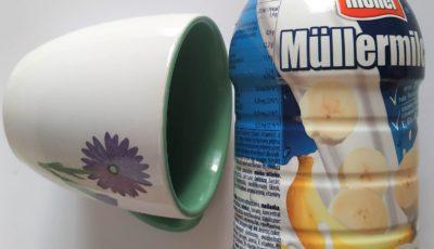 banánové mlieko mullermilk, zdravá desiata, čo na desiatu deťom do školy, čo na desiatu do školy, desiatové boxy, krabička na jedlo do školy