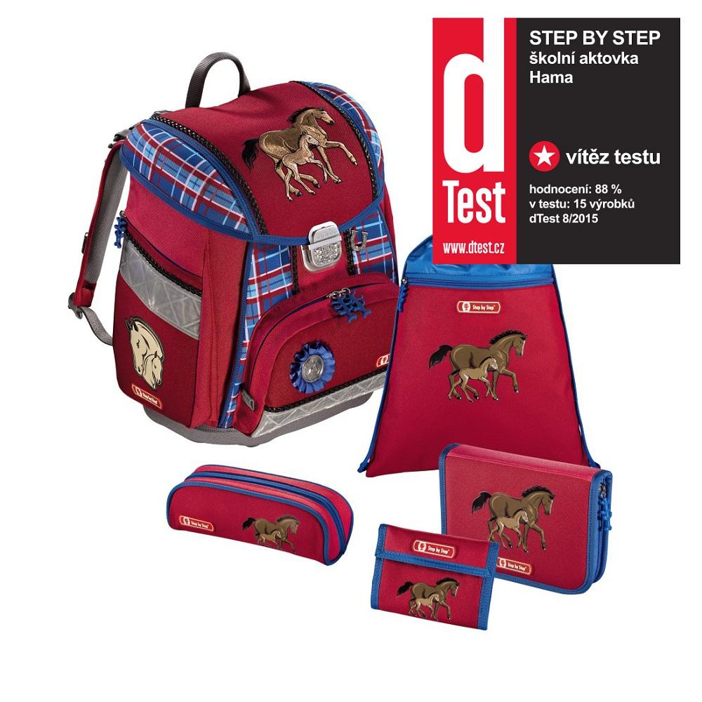 af5dcf270b Step by Step 5dielna súprava s certifikátom AGR Koníkovia - školské tašky  pre prvákov sety - školské aktovky ...