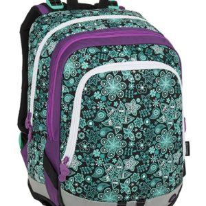 617e794bd8 Školská taška Bagmaster Alfa 9 B Black turquoise