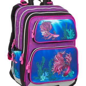 Bagmaster Galaxy 9 C Violet/blue - školské tašky pre prvákov -  školské aktovky pre prvákov -  školská taška pre prváka -  školské potreby pre prváka -  aktovky pre prvákov -  školské batohy pre prvákov