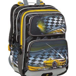 Bagmaster Galaxy 9 D Black/yellow - školské tašky pre prvákov -  školské aktovky pre prvákov -  školská taška pre prváka -  školské potreby pre prváka -  aktovky pre prvákov -  školské batohy pre prvákov