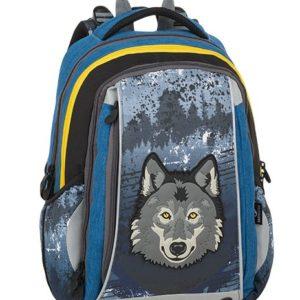 Bagmaster Mercury 9 C Gray/blue/yellow - školské tašky pre prvákov -  školské aktovky pre prvákov -  školská taška pre prváka -  školské potreby pre prváka -  aktovky pre prvákov -  školské batohy pre prvákov