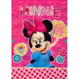 BENIAMIN - Vrecko na prezúvky Minne Mouse -  vrecko na prezúvky - študentský vak so šnúrkami - vak so šnúrkami na chrbát - vrecka na prezuvky - vrecka na chrbat - gymsack - vaky na chrbat - vrecúška na chrbát