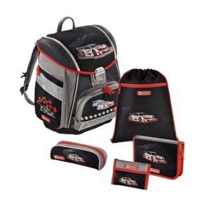 Step by Step – 5dielna súprava s certifikátem AGR Racer - školské tašky pre prvákov sety -  školské aktovky pre prvákov sety -  školská taška pre prváka set -  školské potreby pre prváka -  aktovky pre prvákov -  školské batohy pre prvákov
