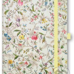 Zápisník Divoké kvety - zápisník - diár - zápisníček - zošitok - zápisník santoro - zápisník aneke - darček k meninám - učiteľský zápisník - denník