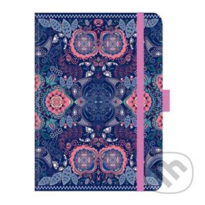 Zápisník India - zápisník - diár - zápisníček - zošitok - zápisník santoro - zápisník aneke - darček k meninám - učiteľský zápisník - denník