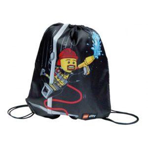 311646f71 LEGO BAGS – Vrecko na prezúvky LEGO CITY FIRE Easy