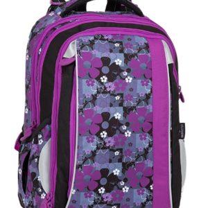 Bagmaster Mercury 8 A Black/pink/violet - školské tašky pre prvákov -  školské aktovky pre prvákov -  školská taška pre prváka -  školské potreby pre prváka -  aktovky pre prvákov -  školské batohy pre prvákov