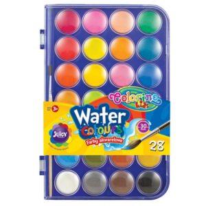 PATIO - Colorino vodové farby 28mm 24 farieb - vodové farby - anilinove farby - vodovky - vodove farby anilinove - vodove farby pre deti - anilinove vodove farby