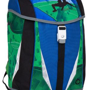 Bagmaster Polo 7 B Blue/green/black - školské tašky pre prvákov -  školské aktovky pre prvákov -  školská taška pre prváka -  školské potreby pre prváka -  aktovky pre prvákov -  školské batohy pre prvákov
