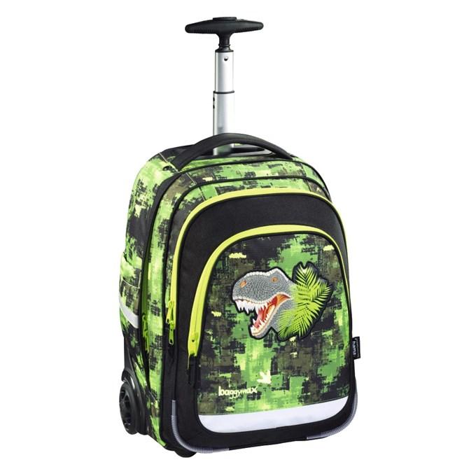 75520525ae Hama Trolley Baggymax Dino - školské tašky na kolieskach - školská taška na  kolieskach