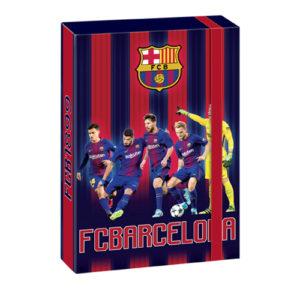 ARSUNA - Box na zošity A5 FC Barcelona - dosky na zošity A5 - boxy na zošity -  dosky A5 na zošity - školské dosky na zošity