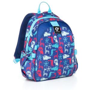 Detský batoh Topgal CHI 839 D - Blue detský ruksak- detský batoh- batoh na krúžky- malý detský batoh- malý detský ruksak- ruksak pre predškolákov- ruksačik- batôžok pre predškoláka- batoh pre škôlkara