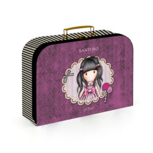 Kufrík na výtvarné potreby - Kufrík do školy - KARTON PP - Kufrík Lamino Santoro