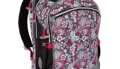 dievčenská školská taška, školská taška pre prváčku, školská taška pre vysokú prváčku, školské tašky recenzie, topgal tašky recenzie, praktická školská taška pre prvý stupeň, čierna školská taška pre prvý stupeň