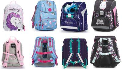 školská taška jednorožec, odľahčená školská taška, školská taška s flitrami, školská aktovka unicorn, dievčenská školská taška, veselá školská taška, školská taška pre prvý stupeň