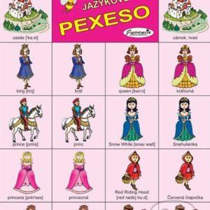 Jazykové pexeso: Fairy Tales / Rozprávky -  jazykové pexeso -  pexeso angličtina -  pexeso nemčina -  pexeso na učenie cudzích jazykov -  ako deti učiť cudzie jazyky -  ako deti učiť slovíčka v cudzích jazykoch