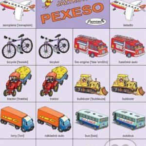 Jazykové pexeso: Transport / Doprava -  jazykové pexeso -  pexeso angličtina -  pexeso nemčina -  pexeso na učenie cudzích jazykov -  ako deti učiť cudzie jazyky -  ako deti učiť slovíčka v cudzích jazykoch