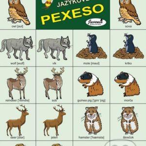 Jazykové pexeso: Animals III. / Zvieratá III. -  jazykové pexeso -  pexeso angličtina -  pexeso nemčina -  pexeso na učenie cudzích jazykov -  ako deti učiť cudzie jazyky -  ako deti učiť slovíčka v cudzích jazykoch
