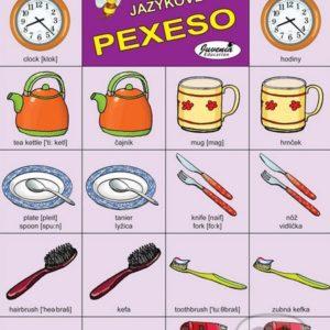 Jazykové pexeso: Household / Domácnosť -  jazykové pexeso -  pexeso angličtina -  pexeso nemčina -  pexeso na učenie cudzích jazykov -  ako deti učiť cudzie jazyky -  ako deti učiť slovíčka v cudzích jazykoch
