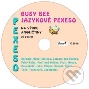 Busy Bee: Jazykové pexeso na výuku angličtiny -  jazykové pexeso -  pexeso angličtina -  pexeso nemčina -  pexeso na učenie cudzích jazykov -  ako deti učiť cudzie jazyky -  ako deti učiť slovíčka v cudzích jazykoch