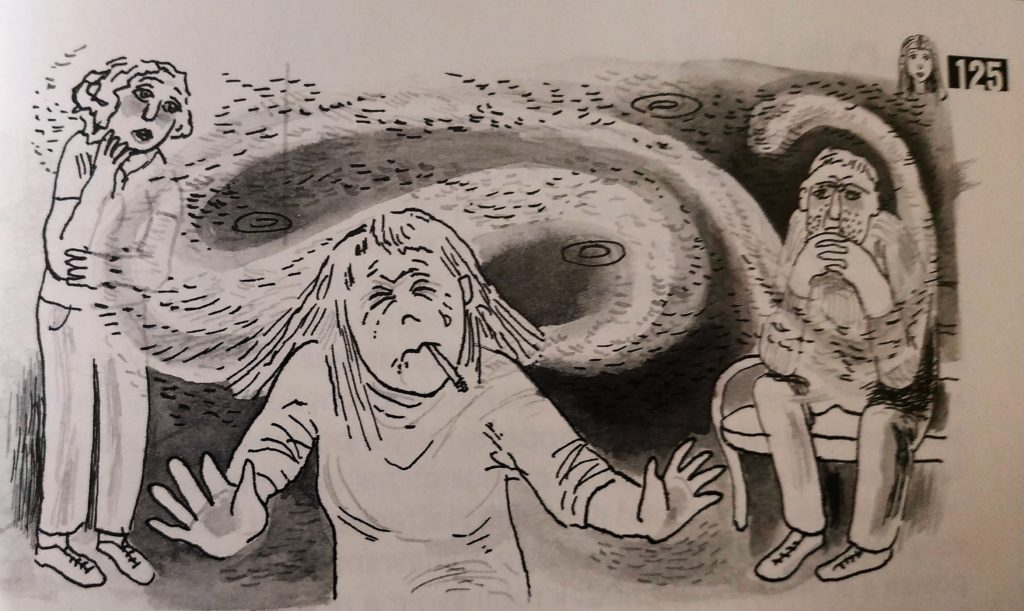 Gabriela futova poskolaci, prist do skoly ako pankac
