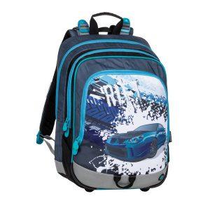 Bagmaster Alfa 20 D Blue/grey/black - školské tašky pre prvákov -  školské aktovky pre prvákov -  školská taška pre prváka -  školské potreby pre prváka -  aktovky pre prvákov -  školské batohy pre prvákov