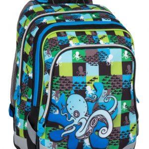 Bagmaster Alfa 7 C Blue/green - školské tašky pre prvákov -  školské aktovky pre prvákov -  školská taška pre prváka -  školské potreby pre prváka -  aktovky pre prvákov -  školské batohy pre prvákov