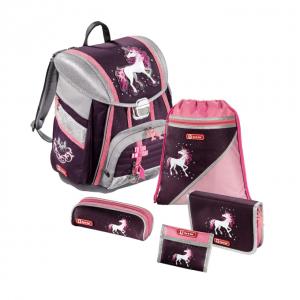 Step by Step – 5dielna súprava s certifikátem AGR Jednorožec - školské tašky pre prvákov sety -  školské aktovky pre prvákov sety -  školská taška pre prváka set -  školské potreby pre prváka -  aktovky pre prvákov -  školské batohy pre prvákov