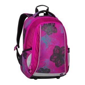 Bagmaster Mark 20 A Pink/blue/turquoise - školské tašky pre prvákov -  školské aktovky pre prvákov -  školská taška pre prváka -  školské potreby pre prváka -  aktovky pre prvákov -  školské batohy pre prvákov