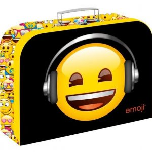 Kufrík na výtvarné potreby - Kufrík do školy - KARTON PP - Kufrík Emoji 34cm