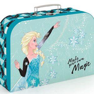Kufrík na výtvarné potreby - Kufrík do školy - KARTON PP - Kufrík Frozen Make Your Own Magic 34cm