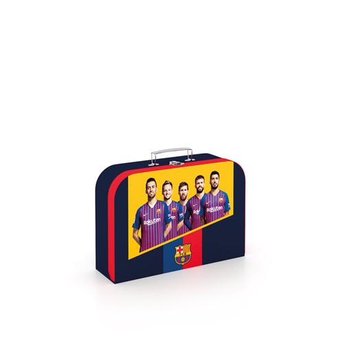 Kufrík na výtvarné potreby - Kufrík do školy - KARTON PP - Kufrík Lamino 34 cm FC Barcelona