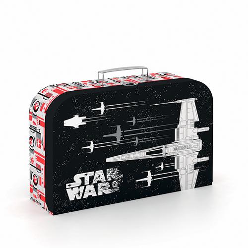 Kufrík na výtvarné potreby - Kufrík do školy - KARTON PP - Kufrík Lamino 34 cm Star Wars