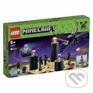 Lego Minecraft - darek pre chalana 10 rokov - darček pre 9 ročného chlapca - darček pre 8 ročného chlapca - darček pre Minecrafťáka - darček pre spolužiaka - darček pre chlapca na oslavu narodenín -  LEGO Minecraft 21117 Drak Ender
