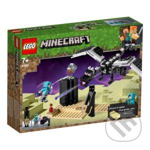 Lego Minecraft - darek pre chalana 10 rokov - darček pre 9 ročného chlapca - darček pre 8 ročného chlapca - darček pre Minecrafťáka - darček pre spolužiaka - darček pre chlapca na oslavu narodenín -  LEGO Minecraft 21151 Záverečná bitka