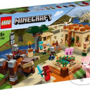 Lego Minecraft - darek pre chalana 10 rokov - darček pre 9 ročného chlapca - darček pre 8 ročného chlapca - darček pre Minecrafťáka - darček pre spolužiaka - darček pre chlapca na oslavu narodenín -  LEGO Minecraft - Útok Illagerov