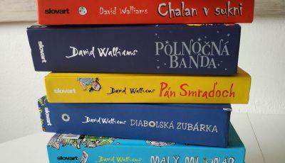 knihy za vysvedcenie, darcek za vysvedcenie, david walliams, knihy pre 10 rocne deci, kniha pre 10 rocne dievca, kniha pre 10 rocneho chalana
