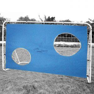 Futbalová bránka 2 v 1 + futbalová sieť - futbalové bránky - futbalová bránka na rekreačné hranie - futbalová bránka na tréning presnej sterľby - futbalové bránky na tréningy - futbalové brány do záhrady - futbalové brány prenosné - plastové futbalové bránny - hokejové bránky