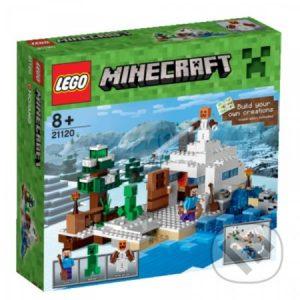 Lego Minecraft - darek pre chalana 10 rokov - darček pre 9 ročného chlapca - darček pre 8 ročného chlapca - darček pre Minecrafťáka - darček pre spolužiaka - darček pre chlapca na oslavu narodenín -  LEGO Minecraft 21120 Snežná skrýša