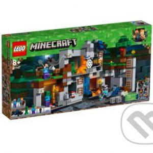 Lego Minecraft - darek pre chalana 10 rokov - darček pre 9 ročného chlapca - darček pre 8 ročného chlapca - darček pre Minecrafťáka - darček pre spolužiaka - darček pre chlapca na oslavu narodenín -  LEGO Minecraft 21147 Dobrodružstvo v skalách